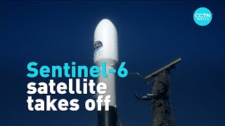 Sentinel-6 satellite takes off