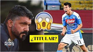 ¿Será TITULAR CHUCKY LOZANO para Gattuso en Napoli vs Barcelona en la Champions | Futbol Picante