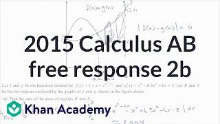 2015 AP Calculus AP 2b