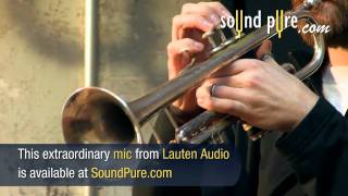 How to Record Classical Trumpet - Lauten Torch ST-221