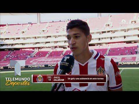 Ángel Zaldívar destaca la actitud e intensidad de Chivas   Telemundo Deportes