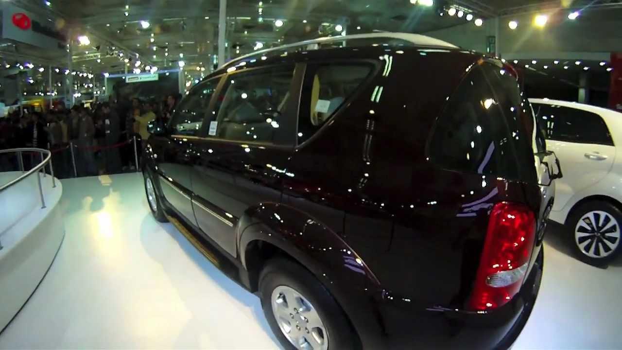 Revealed: Mahindra Ssangyong Rexton at Auto Expo