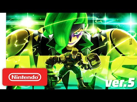 connectYoutube - ARMS - Introducing Dr. Coyle - Nintendo Switch
