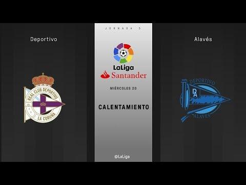 Calentamiento Deportivo vs Alavés