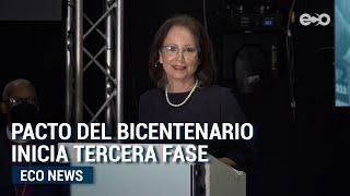 Pacto del Bicentenario inició su tercera fase | ECO News