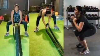 Actress Eesha Rebba Gym Workout Video   Telugu Actress Gym Workout Videos   TFPC - TFPC