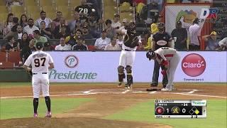 Resumen Leones del Escogido vs Águilas Cibaeñas | 16 ENE 2020 | Serie Semifinal Lidom