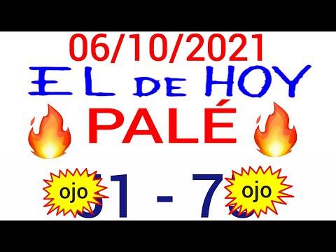NÚMEROS PARA HOY 06/10/21 DE OCTUBRE PARA TODAS LAS LOTERÍAS...!! Números reales 05 para hoy...!!