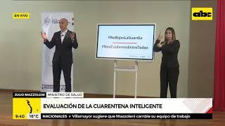 Paraguarí y Concepción avanzan a fase 3 de la cuarentena inteligente