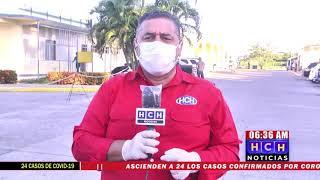 Desoladas las calles en La Ceiba, por Toque de Queda Absoluto