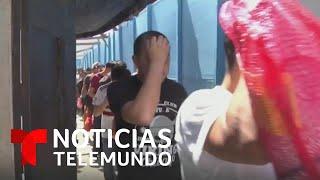 Más de 400 migrantes deportados llegaron a Guatemala en un día   Noticias Telemundo
