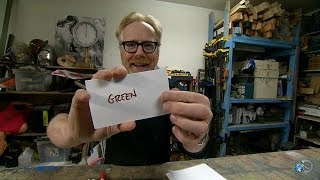 Take the Stroop Test   MythBusters