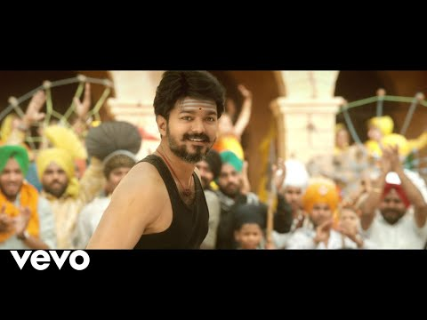 Aalaporan Thamizhan Video Song With Lyrics, Mersal Movie Song