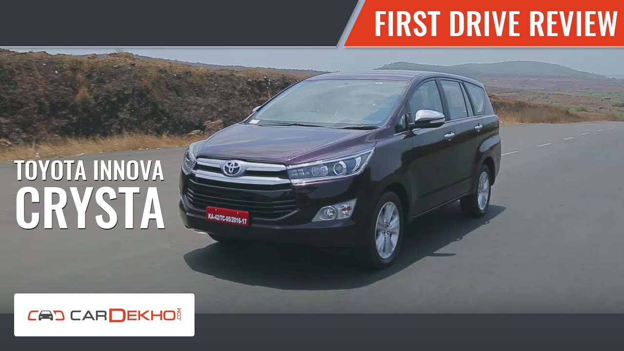 Toyota Innova Crysta | First Drive Review