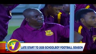 Late Start for 2020 School-boy Football Season: TVJ Sports News - May 19 2020