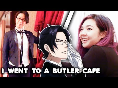 connectYoutube - I Went to a Butler Cafe.