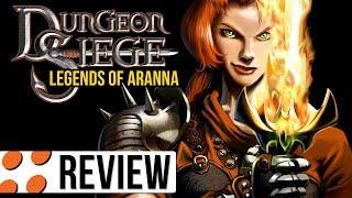 Dungeon Siege & Legends of Aranna Video Review