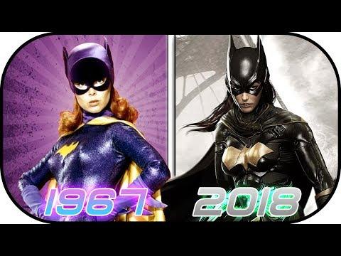 EVOLUTION of Batgirl & Batwoman in Movies, Cartoons, TV (1967-2018) Batman Batgirl Justice League