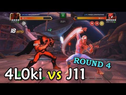 connectYoutube - Alliance War: 4L0ki -vs- J11 | Void, Spark, Blade | Marvel Contest of Champions