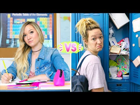 First Day of School vs Last Day of School! Alisha Marie