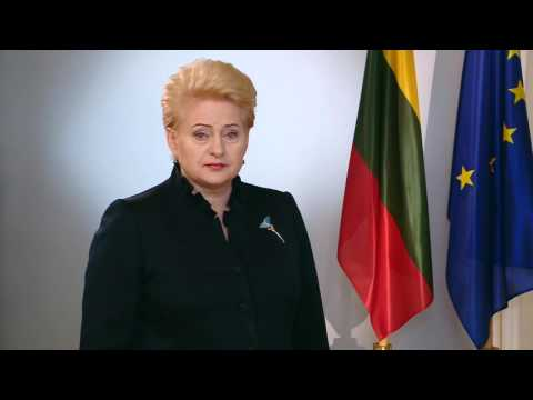 Никто не остановит европейский выбор Украины – Грибаускайте (Видео)