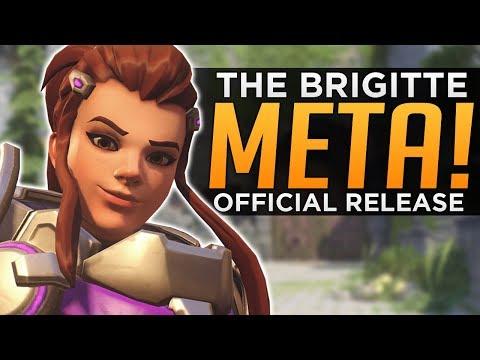 connectYoutube - Overwatch: The Brigitte Meta! - Official Release Date CONFIRMED!