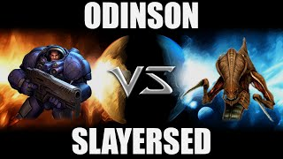 Odinson (T) VS SlayerSEd (Z) -- Starcraft 2 [LAGTV]