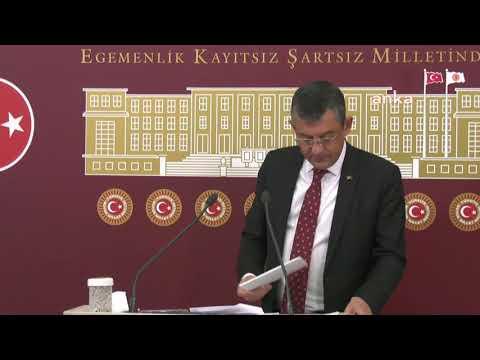ÖZGÜR ÖZEL BASIN TOPLANTISI 27/10/2021