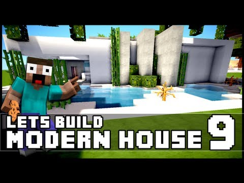 Download youtube to mp3 minecraft lets build modern for Modern house 5 keralis