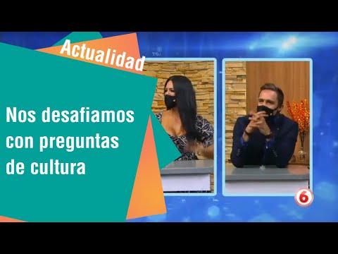 Nos desafiamos con preguntas de cultura en Giros | Actualidad