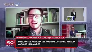 SEGUNDA OLA LLEGÓ AL PERÚ: Director Medicina Hospital Cayetano Heredia Antonio Hernández????Radio91.9FM