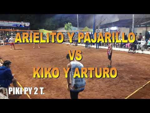 Piki py 2 T. Arturo y Kiko Vs Pajarillo y Arielito. San Lorenzo. FUTVOLEY. FOOTVOLLEY. FUTEVOLEI.