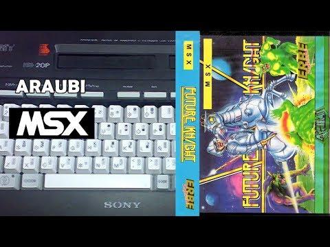 Future Knight (Gremlin, 1986) MSX [297] Walkthrough