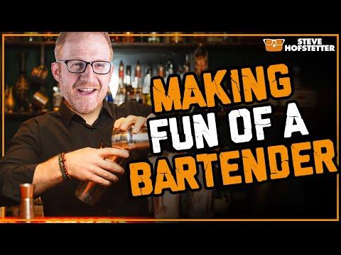connectYoutube - Comedian messes with bartender - Steve Hofstetter