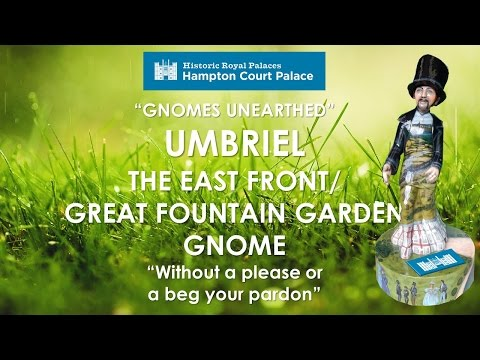 GNOMES UNEARTHED Eastern Front Gnome Great Fountain Garden Mandii Pope