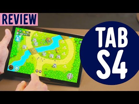 Unboxing & Review: Samsung Galaxy Tab S4