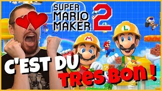 Vidéo-Test : SUPER MARIO MAKER 2 le TEST : PLUS HAUT, PLUS FORT, PLUS COOL !