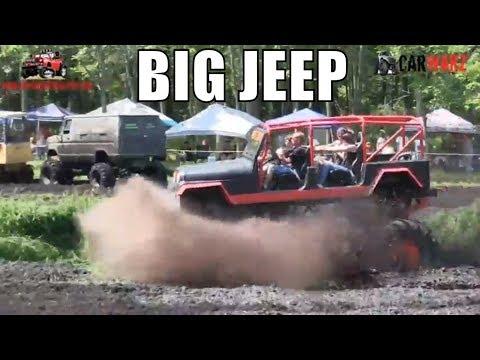 BIG JEEP Mudding At Perkins Summer Sling Mud Bog 2018