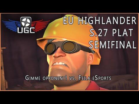 UGC HL S27 Plat Semifinal: Gimme opponent! vs. Feila eSports
