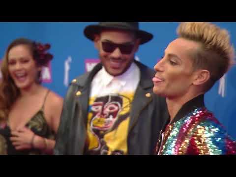 Frankie Grande & Hugo Gloss @ VMAs 2018