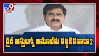 ఏపీలో డైరీల ఆస్తులని అమూల్ కి కట్టబెడతారా?: Devineni Uma questions YCP Govt - TV9 - TV9