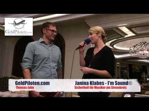 Die Geldpiloten - I'M SOUND Interview mit Janina Klabes