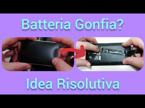 Batteria gonfia dello smartphone? Ecco una idea per rimediare
