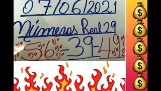 NUMEROS PARA HOY 07/06/2021 DE JUNIO PARA TODAS LAS LOTERIAS