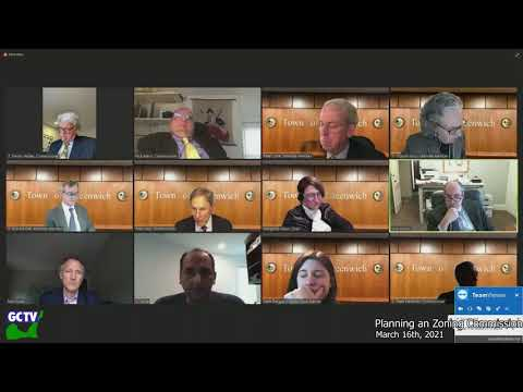 Planning & Zoning Commission, March 16, 2021