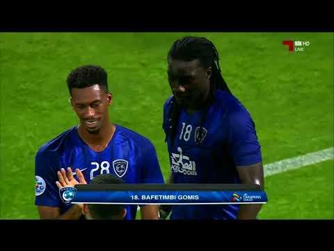 اهداف المباراة : الدحيل 2 - 2 الهلال السعودي - هدف العرابي
