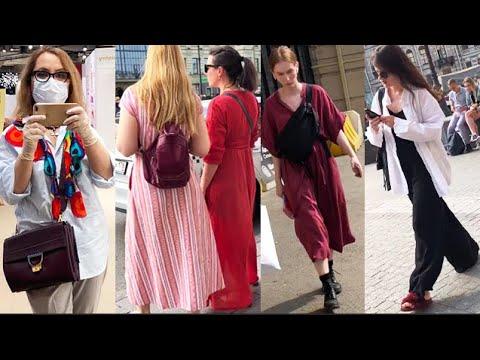 Как выглядят россиянки — СТРИТ СТАЙЛ 2020 Что модно этим летом Как одеваются в Петербурге Что надето