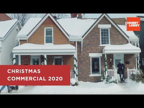 Christmas Is What You Make It® | Hobby Lobby® | 2020 Commercial