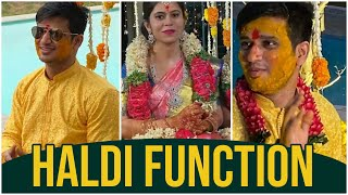 Hero Nikhil's Wedding Visuals | Haldi Function | Hero Nikhil Marriage With Pallavi Varma | TFPC - TFPC