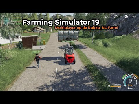 Farming Simulator 19 -- Opname 30/07/2019